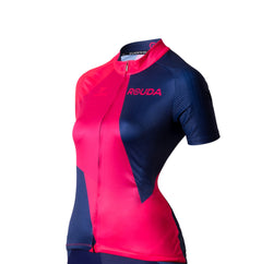 polygo red - women cycling jersey