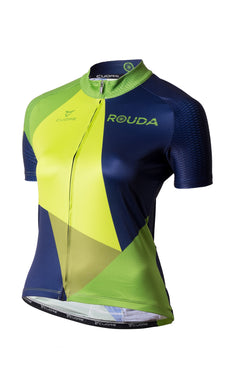 polygo green - women cycling jersey