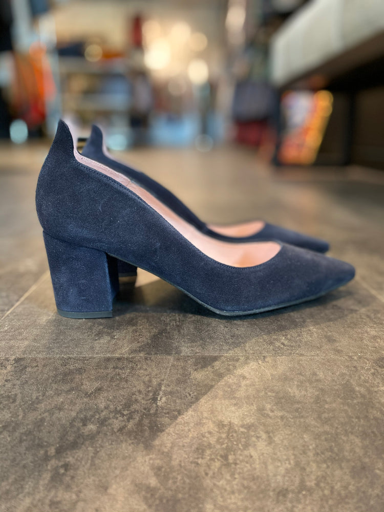 Load image into Gallery viewer, COPENHAGEN SHOES MANDY NAVY