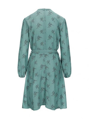 UNTOLD STORIES ELISA DRESS GREEN F