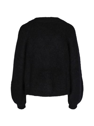 BYTIMO HAIRY KNIT JACKET SORT