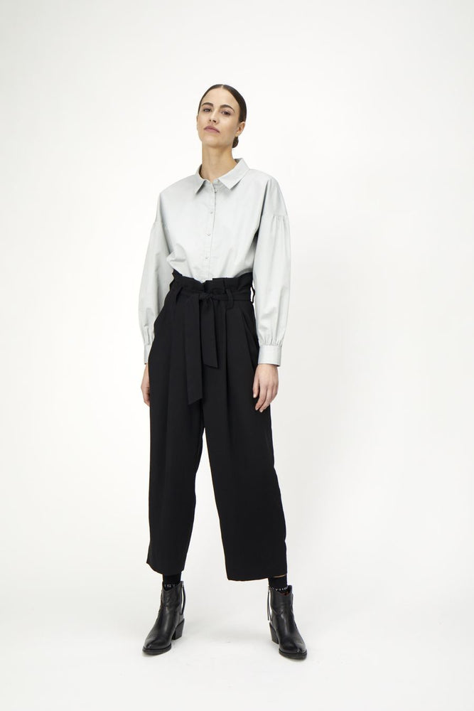ODETTE TROUSERS COFFEE BEAN