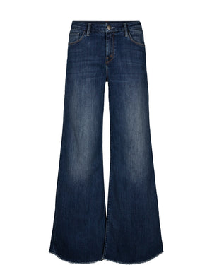 Load image into Gallery viewer, MOS MOSH ZOEY BLOSSOM JEANS BLÅ