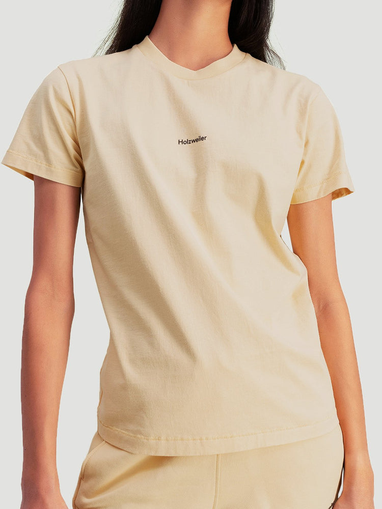 Load image into Gallery viewer, HOLZWEILER SUZANA TEE YELLOW