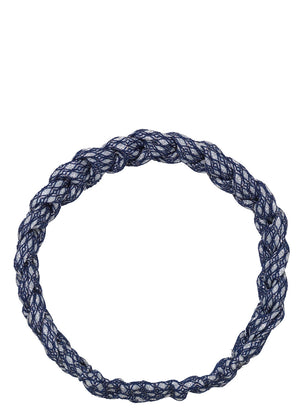 BECKSØNDERGAARD BRAIDED BAND GRAPHIC CLASSIC NAVY