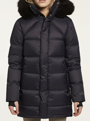 FLEISCHER COUTURE POLARIS DOWN COAT MØRK BLÅ (DEEP WELL)