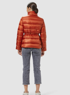 Load image into Gallery viewer, RICH ROYAL DOWN JACKET SHORT RUSTY
