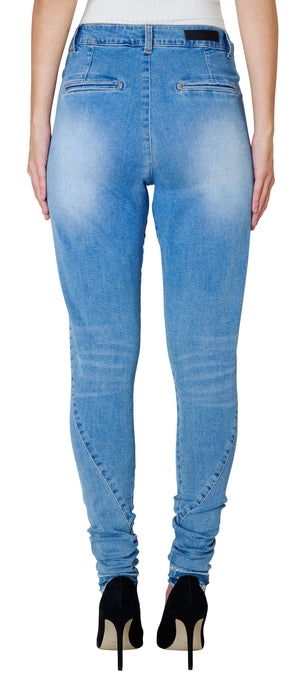 FIVE UNITS JOLIE 455 DESTRUCT RAINI JEANS