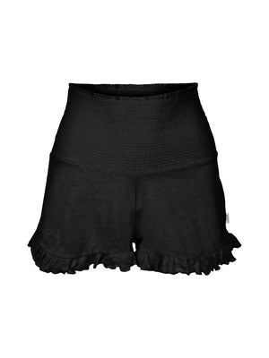 Load image into Gallery viewer, ELLA&IL HEBE LINEN SHORTS BLACK