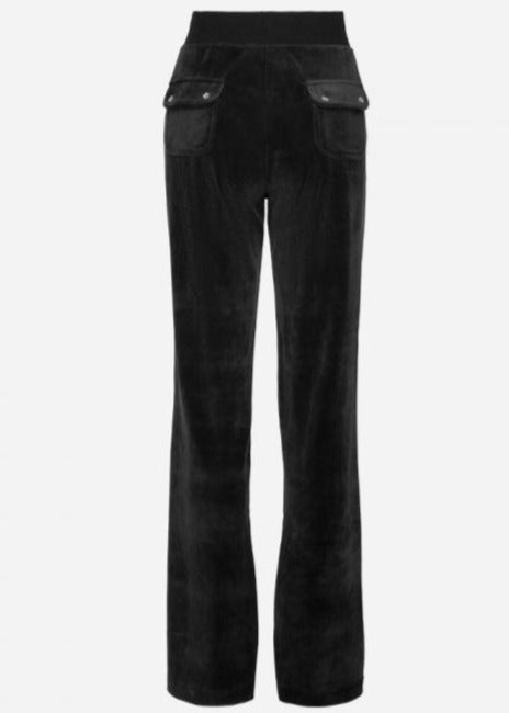 Load image into Gallery viewer, JUICY COUTURE VELOUR PANT SORT