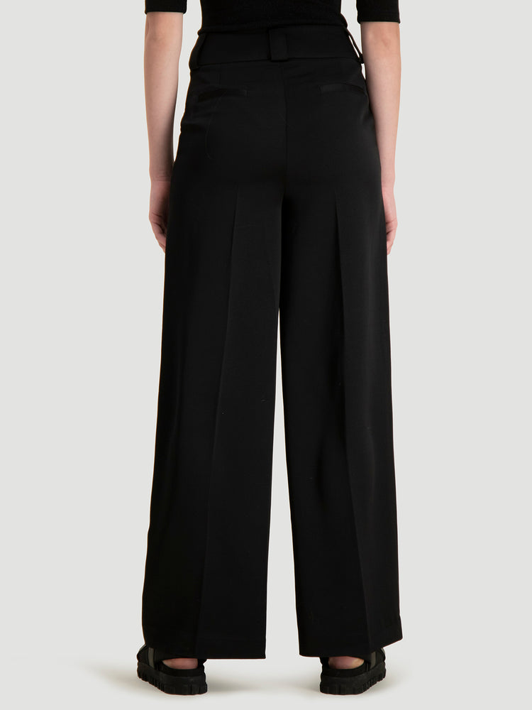 HOLZWEILER SOFT TROUSERS SORT