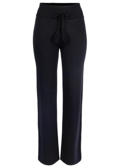 Load image into Gallery viewer, ELLA&IL MUBI MERINO PANTS BLACK