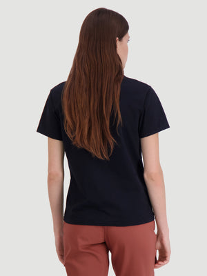 Load image into Gallery viewer, HOLZWEILER SUZANA OSLO TEE BLACK