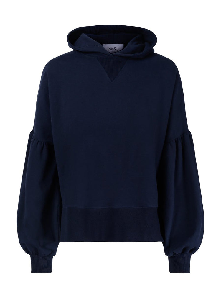 Load image into Gallery viewer, ELLA OG IL BELLE HOODIE NAVY