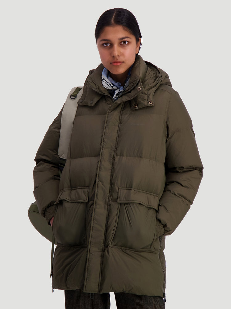 Load image into Gallery viewer, HOLZWEILER SOL DOWN JACKET ARMY