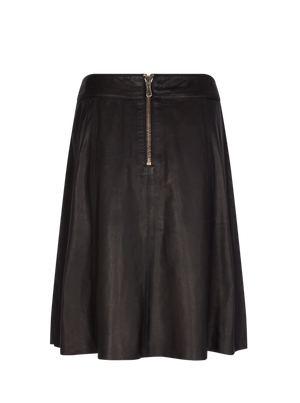 Load image into Gallery viewer, MOS MOSH ADALYN LEATHER SKIRT BLACK