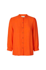 LOLLYS LAUNDRY AMALIE SHIRT ORANGE