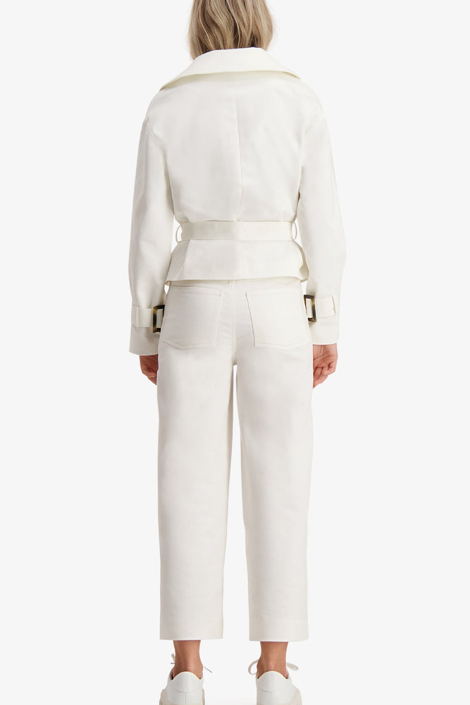 Load image into Gallery viewer, CAMILLA PIHL TROUSER ECRU