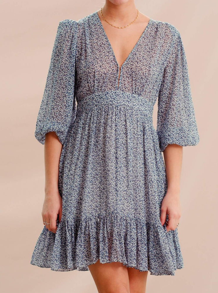 BY TIMO DELICATE SEMI GOWN PETIT BLUE