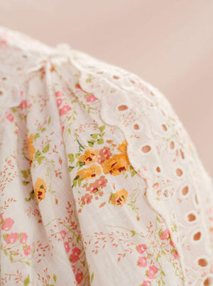 TI MO COTTON SLUB BLOUSE WALLPAPER