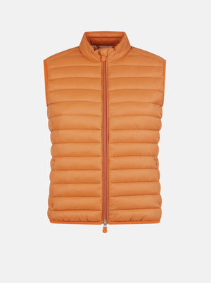 SAVE THE DUCK GIGA12 VEST ORANGE