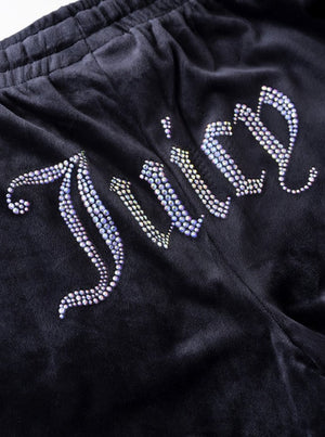 JUICY COUTURE TINA TRACK PANTS BLACK