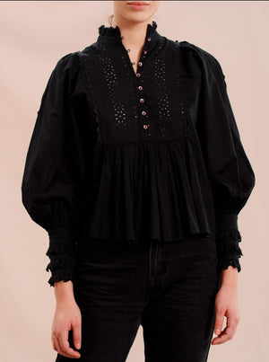 BY TIMO COTTON SLUB BLOUSE SORT