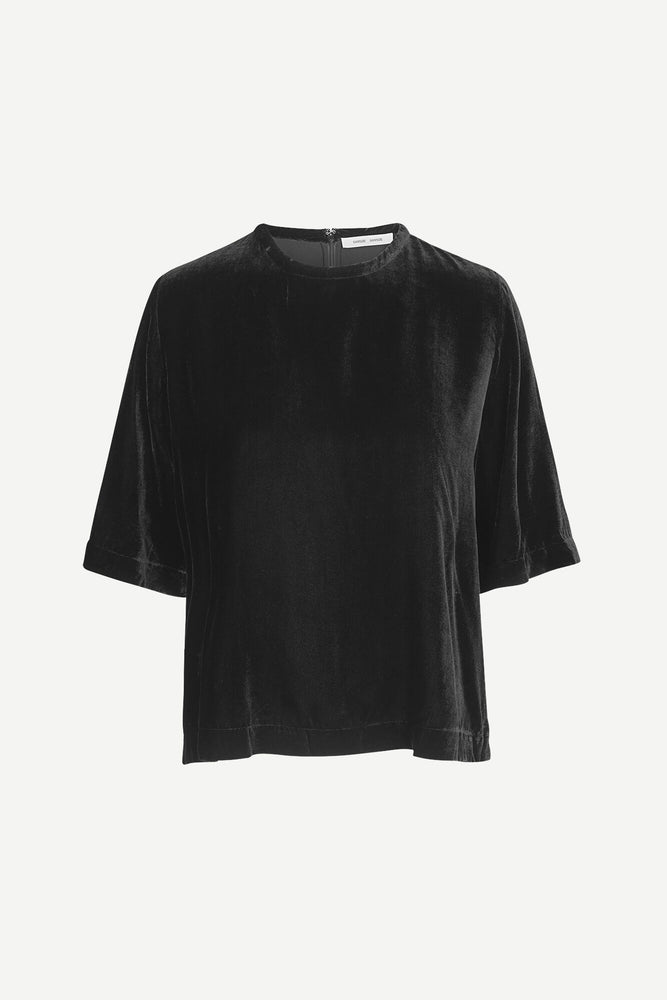 SAMSØE ISABEL BLOUSE SORT