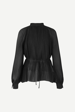 Load image into Gallery viewer, SAMSØE SAMSØE SORAYA BLOUSE BLACK