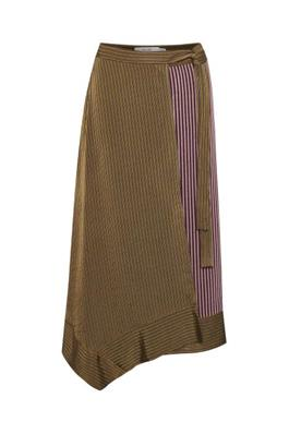 GESTUZ BRIDGET GZ SKIRT YELLOW STRIPE
