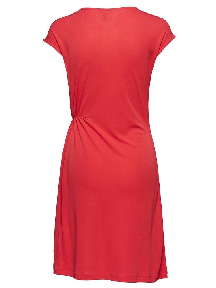 GANT WAIST DETAIL DRESS 685 RED