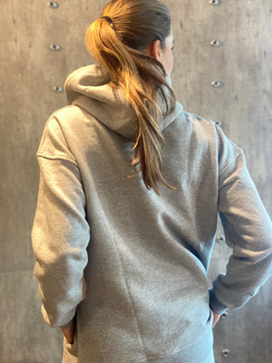 Load image into Gallery viewer, GANNI SOFTWARE ISOLI HOODIE PALOMA MELANGE