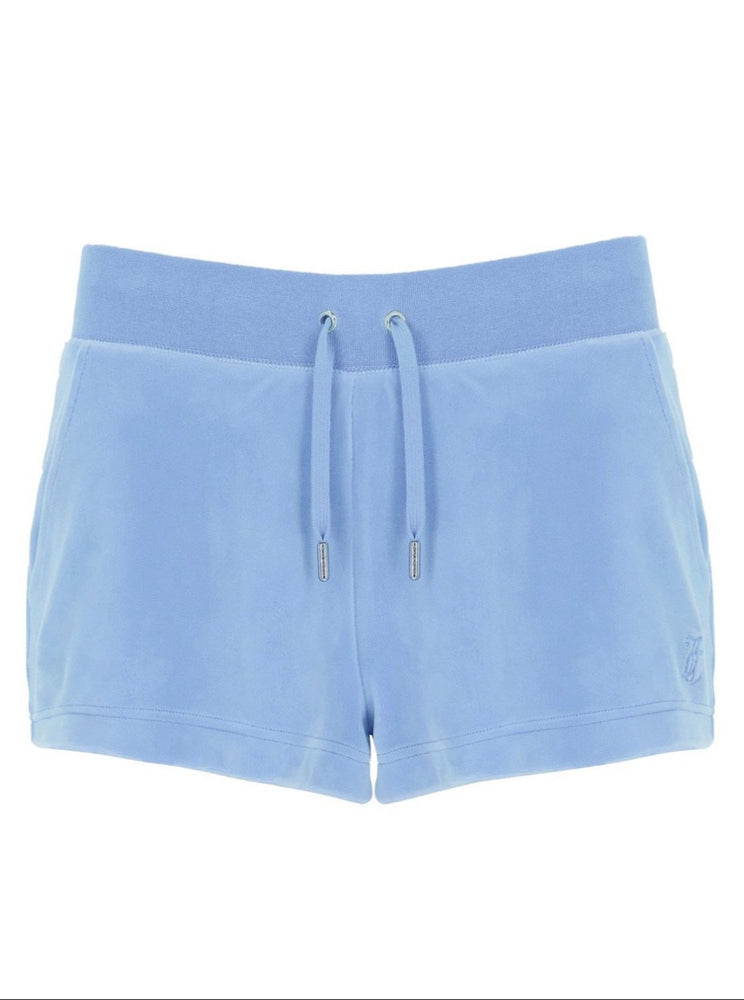 Load image into Gallery viewer, JUICY COUTURE EVE SHORTS ROBBIA BLUE
