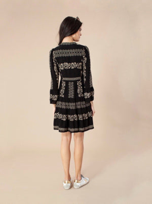 HALE BOB DRESS EMBROIDERY