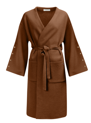 Load image into Gallery viewer, BUSNEL MICHELINE COAT CINNAMON