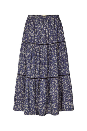 LOLLYS LAUNDRY MORNING SKIRT BLOMSTER