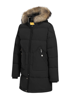 PARAJUMPERS LIGHT LONGBEAR GIRL BLACK