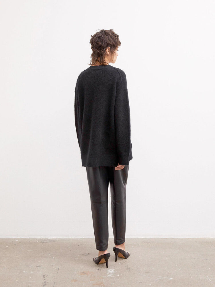 Load image into Gallery viewer, MALENE BIRGER BISANA PULLOVER SORT
