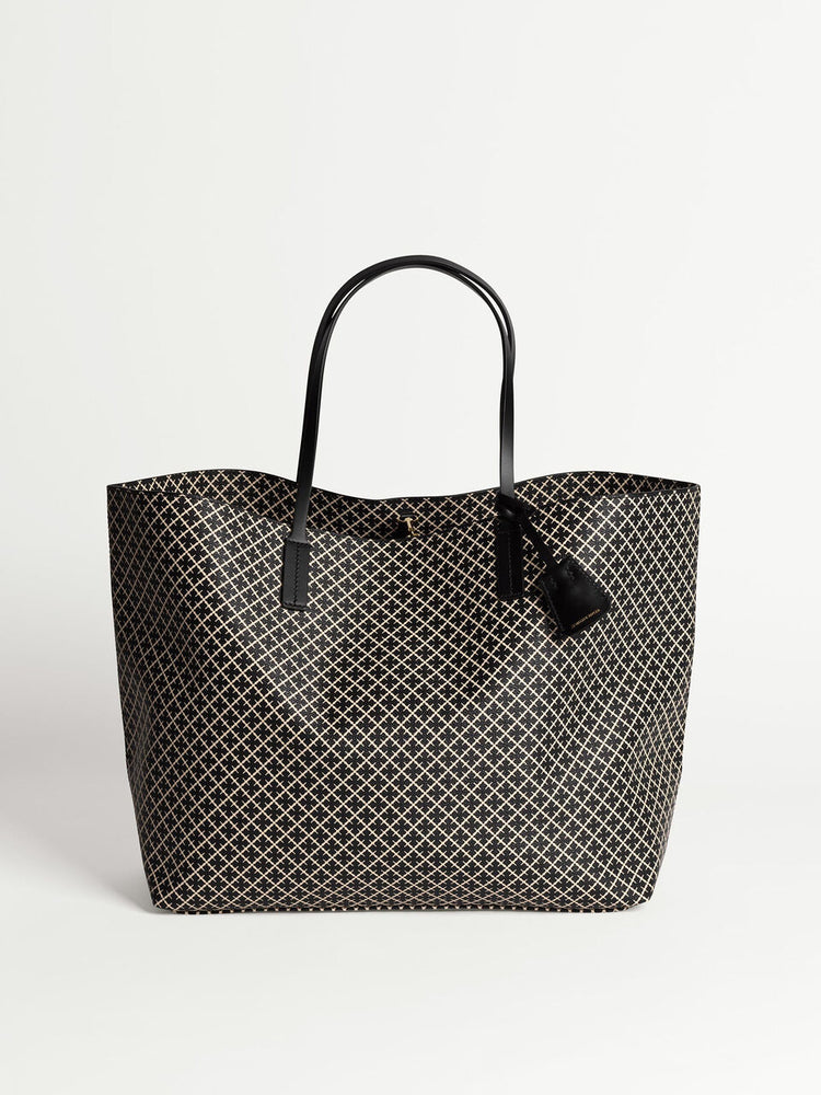 Load image into Gallery viewer, MALENE BIRGER ABI TOTE VESKE SORT/HVIT