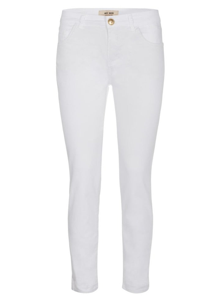 MOS MOSH SUMNER DECOR PANT WHITE ANKLE