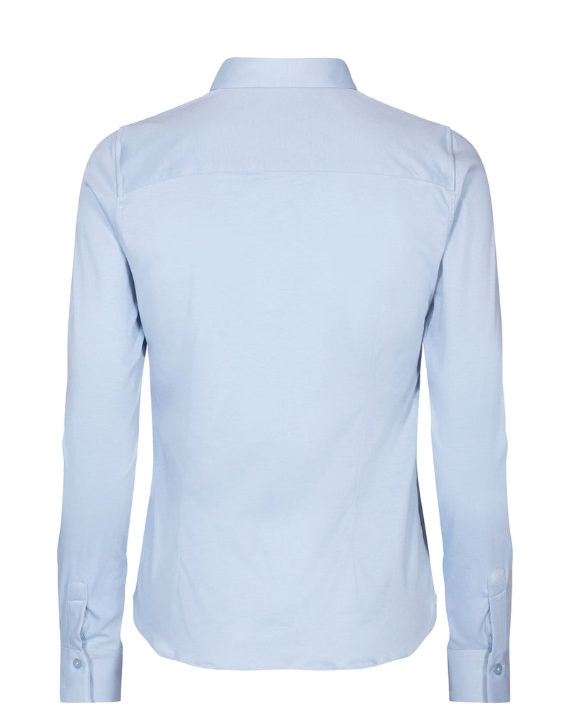 Load image into Gallery viewer, MOS MOSH TINA JERSEY SHIRT CEL BLUE