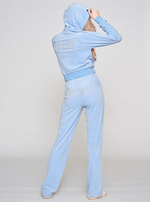 Load image into Gallery viewer, JUICY COUTURE SALLY HOODIE POWDER BLUE