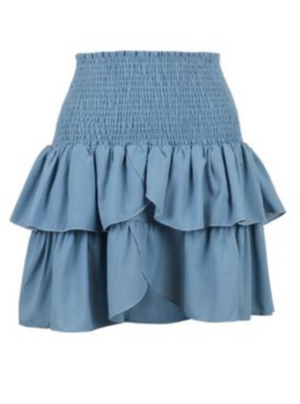 NEO NOIR CARIN SKIRT BLUE WAVE
