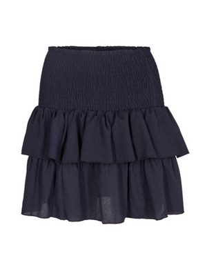 Load image into Gallery viewer, NEO NOIR CARIN SKIRT navy
