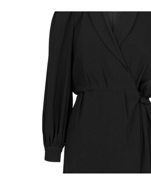 Load image into Gallery viewer, MAUDE SORT BLAZER WRAP DRESS