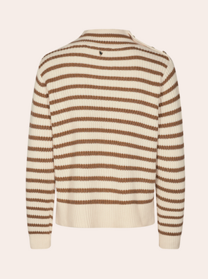 Load image into Gallery viewer, MOS MOSH LIN STRIPE KNIT STRIPETE