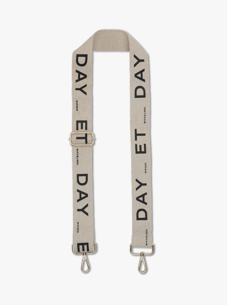 DAY ET HERRINGBONE STRAP BLACK