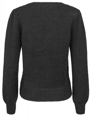 Load image into Gallery viewer, MAUD SOFT MOHAIR SWEATER SORT
