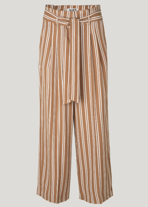 JUST WENDY TROUSERS THRUSH STRIPE