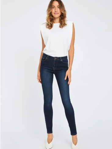 Load image into Gallery viewer, FIVE UNITS KATE 893 GALAXY BLUE EASE JEANS